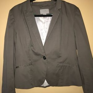 Jackets & Blazers - H&M Gray jacket